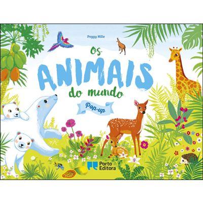 Os animais do mundo em pop-up