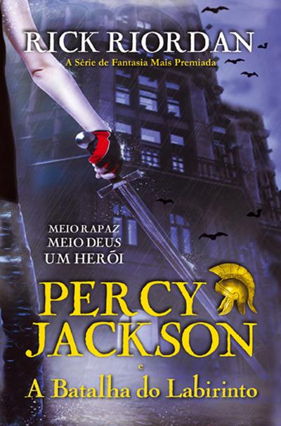 Percy Jackson e a batalha do labirinto. Vol. 4